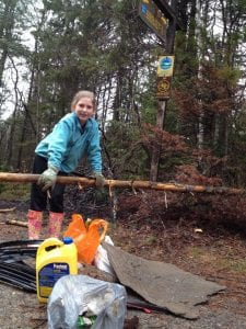 McKenzie Trailhead Earth Day Cleanup - AdirondackFamilyTime.com