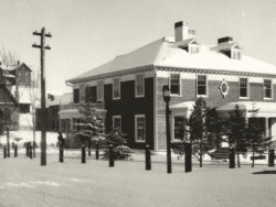 The E. L. Trudeau home and office, 118 Main Street, c. 1900.