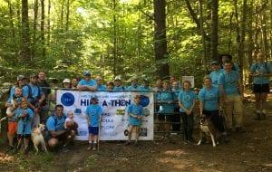 LG hike-a-thon
