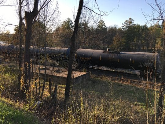 oil tankers in north creek