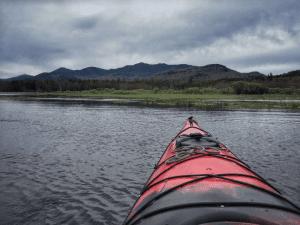 saranac river paddler