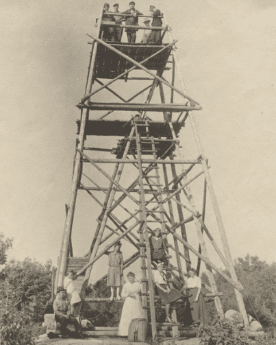 stillwater mountain fire tower