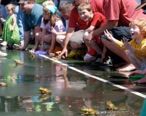 Forty-Six Years of Frog Jumping Father's Days - - The Adirondack Almanack