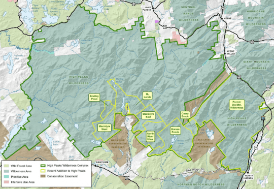 2018 Draft Amendment to the High Peaks Wilderness Complex