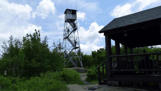 mount arab fire tower
