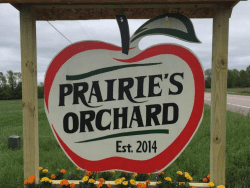 prairies orchard sign