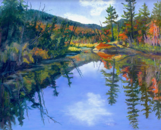 Plein air painting by Diane Leifheit