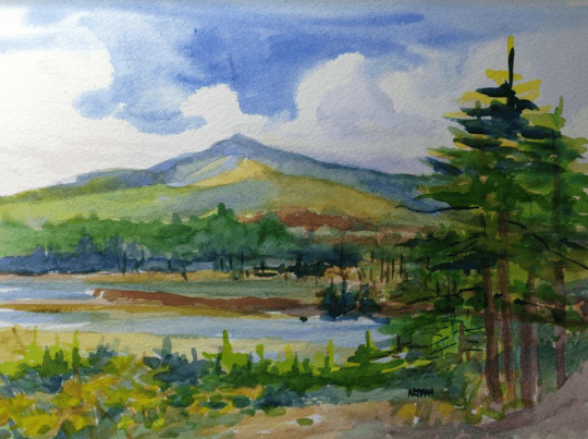 St Regis with Heron Marsh by Jacqueline Altman