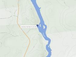 jamestown falls river access site