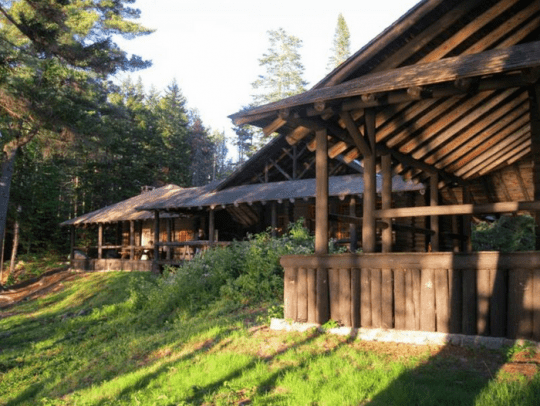 santanoni main camp