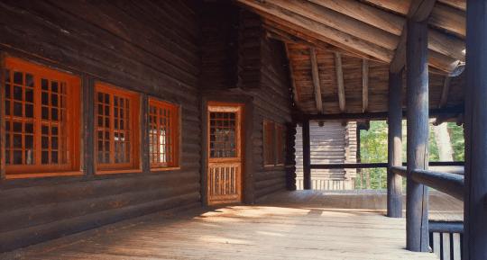 santanoni porch