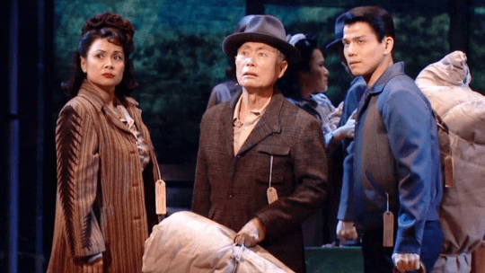 Lea Salonga George Takei and Telly Leung in Allegiance