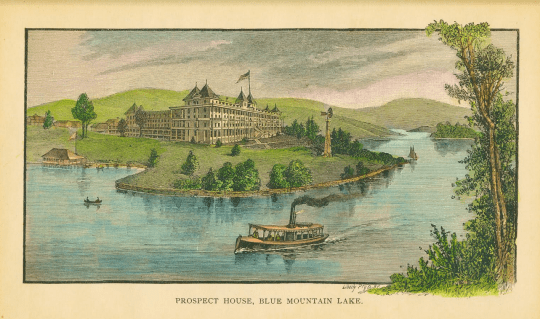 Prospect House on Blue Mountain Lake