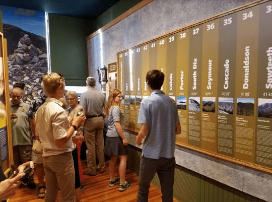 Hiking the Adirondack High Peaks exhibit