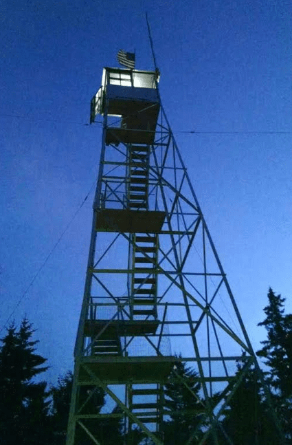 stillwater fire tower