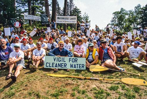 vigil for clean water courtesy Nancie Battaglia