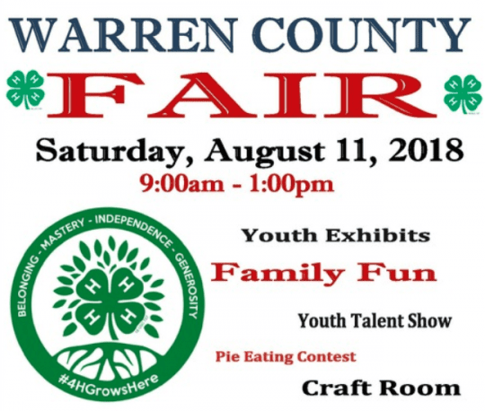 warren county youth fair