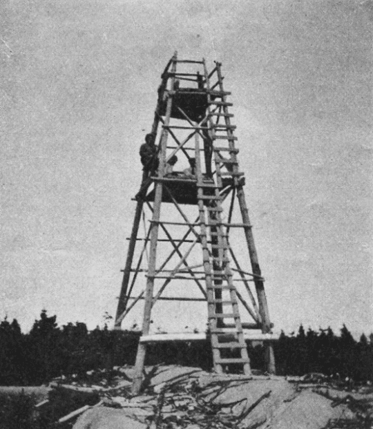 Fire Observation Tower c 1920s