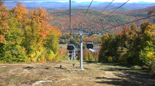 Northwoods Gondola during Harvest Fest 2017