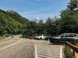 Route 73 parking