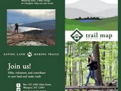 Champlain Area Trails 2018 2019 Trail Map