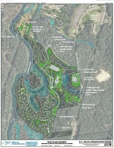 frontier town equestrian campground and day use area plan