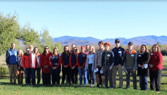 grant award winners at Heaven Hill Farm in Lake Placid