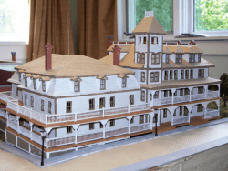 Model of the Berkeley Hotel by John Wheeler