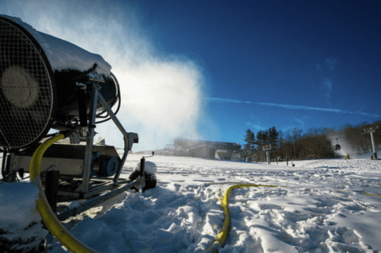 Snowmaking at Gore Mountain