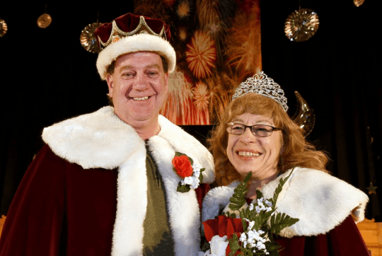 2018 King Clyde Baker and Queen Nancy LaBombard