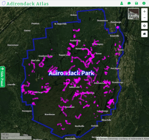 Cross Country Ski Trails in the Adirondack Park