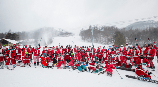 Santas at Whiteface