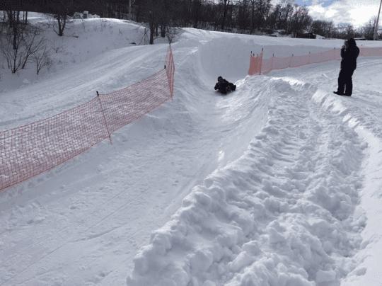 luge track