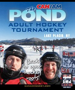 Canam Pond Hockey Weekend In Lake Placid The Adirondack Almanack
