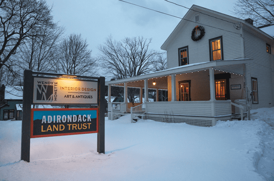 Adirondack Land Trust office in Keene
