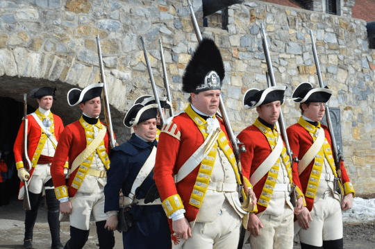 Fort Ticonderoga British Garrison