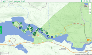 AIC Nature Trails Map
