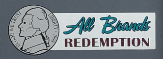All Brands Redemption Center Sign