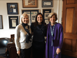 Meredith Hanna Representative Elise Stefanik Lyn Flyn at NAL 2019