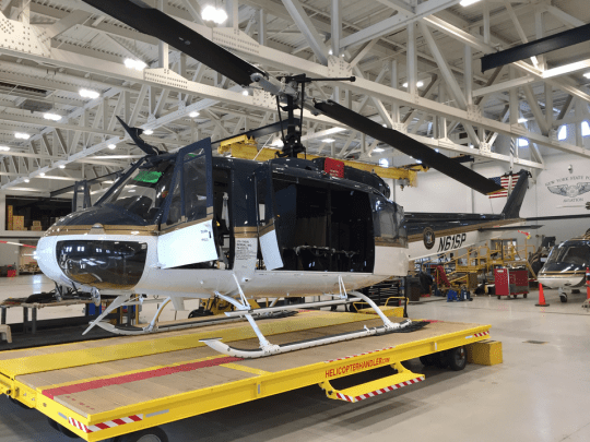 Bell UH-1-A Huey helicopter