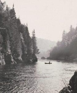 Hudson River near the Blue Ledges by Paul Schaefer, c. 1968