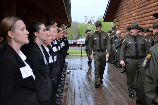 ECO Forest Ranger basic training