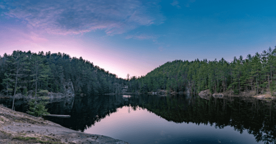 Sunset at Copper Pond by Brendan Wiltse Photography