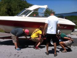 boat launch steward