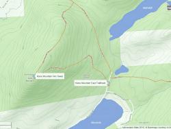 kane mountain map