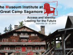 museum institute at great camp sagamore