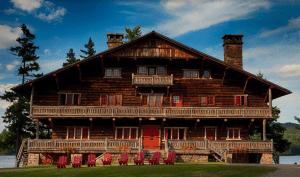 Great Camp Sagamore main lodge