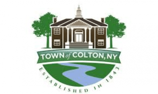 Town of Colton logo