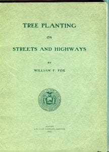 Tree Planting on Streets and Roads by William Fox