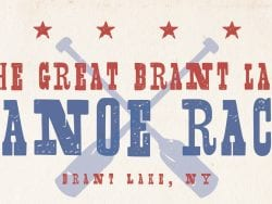 Great Brant Lake Canoe Race